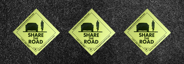 Share the Road! Get Your Free Sticker and Promote Safety for Cyclists